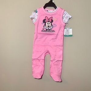 🌸Disney Baby NWT matching 3 piece outfit